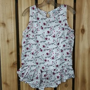 Disney Parks Minnie Mouse Sleeveless Blouse